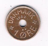 1 ORE 1938 DENEMARKEN /5897/ - Danemark