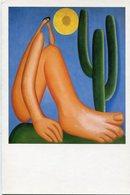 TARSILA DO AMARAL - ABAPORU, 1928. MUSEO MALBA, BUENOS AIRES ARGENTINA. ART POSTAL NOT CIRCULATED - LILHU - Pintura & Cuadros
