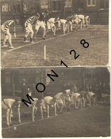 ANGLETERRE-DOVER COLLEGE ATHELETIC SPORTS-START OF FINAL OF OPEN SENIOR 1921-2 PHOTOS CARTES - Dover