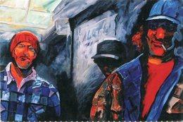 LOS COMPAÑEROS, 1997 - MIRIAM JERUSALMI. CENTRO CULTURAL RECOLETA ARGENTINA ART POSTAL CIRCA 2000 NOT CIRCULATED - LILHU - Pintura & Cuadros