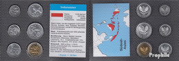 Indonesien Stgl./unzirkuliert Kursmünzen Stgl./unzirkuliert 1991-2008 25 Bis 1.000 Rupiah - Indonesia