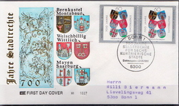 Germany Used Stamp On FDC From 1991 - Covers