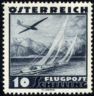 ÖSTERREICH 612 **, 1935, 10 S. Flugzeug über Landschaften, Pracht, Mi. 100.- - 1850-1918 Imperium