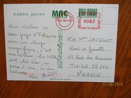 1983 PORLAMAR VENEZUELA TO FRANCE   , 0 - Venezuela