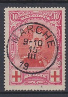 COB133 Croix-Rouge Obli Concours MARCHE - 1914-1915 Rotes Kreuz