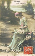 33435. Postal Romantica Vintage IVRY PORT (Ivry Sur Seine) Seine 1912 - Francia