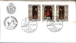 12832a)F.D.C.SERIE COMPLETA SAN MARINO 26-11-86 - FDC