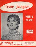 BELLE PARTITION  PETULA CLARK / P. DELANOE - FRERE JACQUES - 1969 - EXC ETAT PROCHE DU NEUF - - Otros