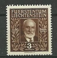 N° 166 ** - Liechtenstein