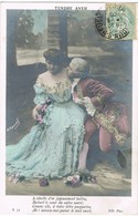 33437. Postal Romantica Vintage VERDUN Sur MEUSE (Meuse) 1906. Pareja, Tendre Aveu - Francia