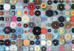 JOSE PATRICIO - 0 NUMERO, COEÇAO, 2005, BOTOES BOTONES BUTTONS. BRAZIL ART POSTAL CIRCA 2000 NOT CIRCULATED - LILHU - Pintura & Cuadros
