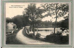 CPA - COMBOURG (35) - Aspect Du Chemin Longeant L'étang Et Le Moulin De Trémigon Au Début Du Siècle - Combourg