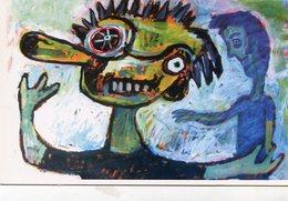 EL OJO DEL TRASTORNADO - YAGUI QUINTERO. ARGENTINA ART POSTAL CIRCA 2010 NOT CIRCULATED - LILHU - Pintura & Cuadros