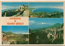 TAORMINA IL TEATRO GRECO - Vedute - Italia