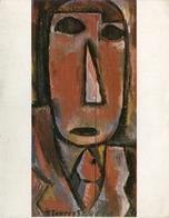 """RETRATO DE HOMBRE"" 1930, JOAQUIN TORRES-GARCIA. GALERIA DE LA MATRIZ URUGUAY ART POSTAL NOT CIRCULATED - LILHU - Pintura & Cuadros"