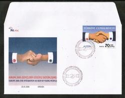CEPT 2006 TR MI 3519 TURKEY FDC - 2006