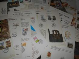 Collection Andorre Espagnol , 17 Premiers Jours - Francobolli