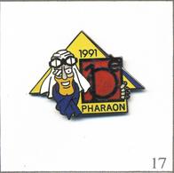 Pin's Automobile - Rallye 4X4 / Rallye Des Pharaons 1991. Estampillé Démons & Merveilles. EGF. T579-17 - Rallye