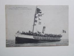 """Carte Postale - St NAZAIRE Au CROISIC (44) - Vapeur """"ABEILLE 17"""" Un Dimanche D'excursion (2950) - France"""