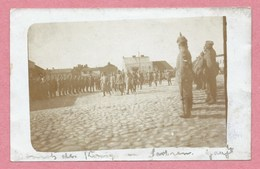 Polska - Polen - Pologne - GRAJEWO - Foto - Carte Photo - Deutsche Soldaten - Feldpost - Guerre 14/18 - Polen