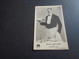Artiste ( 394 )  Acteur De Cinema  Ciné  Film  Filmster  :  Maurice Chevalier - Acteurs