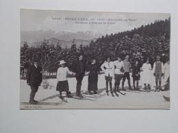 Carte Postale - PEIRA CAVA (06) - Skieurs à Pra De La Cour (2951) - France