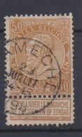 COB62 Obli Simple Cercle NAMECHE - 1893-1900 Schmaler Bart