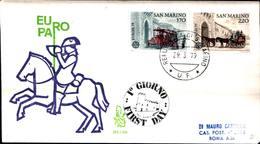 12817a)F.D.C.SERIE COMPLETA SAN MARINO 29-3-79 - FDC