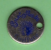 1 Jeton De Caddie *** COIFFURE FUN'HAIR *** (0393)(1) - Einkaufswagen-Chips (EKW)