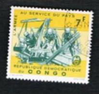 CONGO (KINSHASA) -  SG 595.598  -  1965 CONGOLESE ARMY  - USED ° - Repubblica Democratica Del Congo (1964-71)