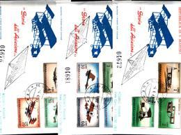 12823a)F.D.C.SERIE COMPLETA SAN MARINO 4-4-62 - FDC