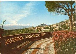 TAORMINA - Vista Dal Giardino Pubblico - Italia