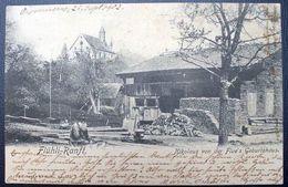 """Schweiz Suisse 1902: PK CPI """"Flühli-Ranft, Nikolaus Von Der Flue's Geburtshaus"""" O VILLAZ ST. PIERRE 22.IX.02 > SACHSELN - OW Obwald"""