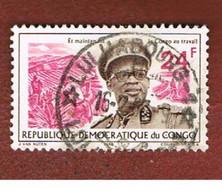 CONGO (KINSHASA) -  SG 613.616  -  1966 PRESIDENT MOBUTU  - USED ° - Repubblica Democratica Del Congo (1964-71)