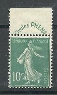 N° 188 * - France