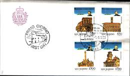 12830a)F.D.C.SERIE COMPLETA SAN MARINO   7-5-83 - FDC