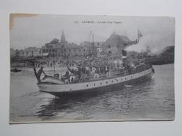 Carte Postale - LARMOR (56) - Arrivée D'un Vapeur (2959) - Larmor-Plage