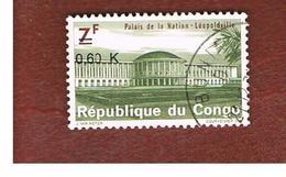 CONGO (KINSHASA) -  SG 712  -  1970 NATIONAL PALACE OVERPRINTED - USED ° - Repubblica Democratica Del Congo (1964-71)