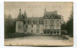 CPA  58 : ST BENIN D'AZY   Le Château    VOIR  DESCRIPTIF §§§ - France