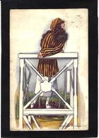 CPA NANNI Art Déco Femme Girl Woman Circulé Illustrateur Italien Italie - Women