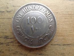 Palestine  100 Mils  1939  Km 7 - Israel