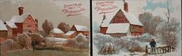 2 Chromos & Images > Chocolat > Aiguebelle - Paysages - En T.Bon Et. - Aiguebelle