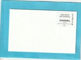 CHANEL    Les EAUX De CHANEL ** Enveloppe Chanel Timbrée ( Timbre Valable Pour Envoi De 20g ) ** - Cartes Parfumées