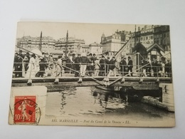 CPA 13 MARSEILLE PONT DU CANAL DE LA DOUANE RARE BELLE CARTE !! - Marseille