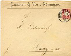(Lo3484) Altdeutschland Brief Bayern St. Nürnberg N. Saaz - Germany