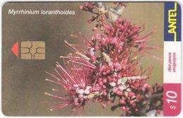 URUGUAY A-372 Chip Antel - Plant, Flower - Used - Uruguay