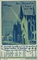 54) Un Zeppelin à Nancy (26 Xbre 1914) - Ed. Pierron, Nancy - Nancy