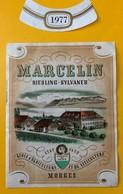 11301 - Marcelin Riesling -Sylvaner Ecole D'Agriculure Et De Viticulture Suisse - Etiquettes