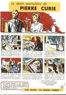 BUVARD CONTRE L'ALCOOLISME PIERRE CURIE - Buvards, Protège-cahiers Illustrés