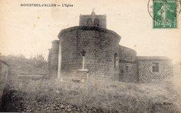 Monistrol D'allier L'église - France
